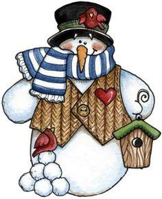 muñecos de nieve 1 | TERNURITAS DE LA RED