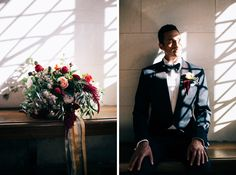 tom ford suit groom flowers church light wedding lucca