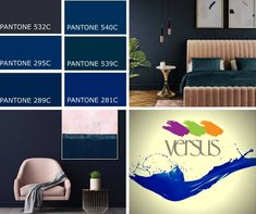 Dark mood paint is on Trend for 2018 - Midnight Blue is the new Black. Recreate this look in your home with Versus Paint Schooner Visit our Versus Parkhurst or Linksfield Stores for all your painting needs and expert advice. Your Paintings, Midnight Blue, Paint Colors, Advice, Mood, Trends, Interior Design, Dark, Home Decor