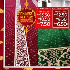 Other for sale, in Klang, Selangor, Malaysia. Lowest Price Mosque Carpet With Double Bonanza Chinese new year Promo!