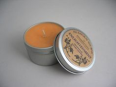 All Natural Soy Wax by Bennington Candle (Enlightenment) Sandalwood, Orange, Lavender * More info could be found at the image url.