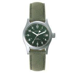 Men's Hamilton Khaki Field Officer Mechanical Watch - Item 19219146 | REEDS Jewelers