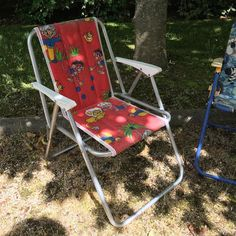 Orangevertevintage — Chaise De Camping Vintage Enfant