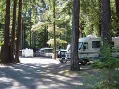 Stayed at the Smithwoods RV park in Felton California. Nice place, also according to the owner the oldest. Close to many great hikes