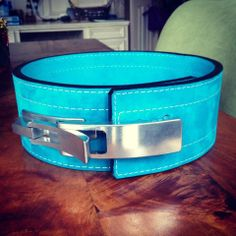 Inzer Lever Belt Turquoise