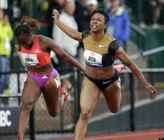 Carmelita Jeter  From Torrance  Event Track and Field