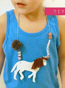 petit à petit and family: DIY: Your Favorite Animal Necklace
