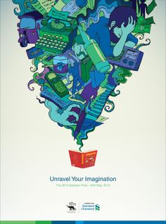 Adeevee - Standard Chartered Bank / The Gratiaen Prize: Unravel Your Imagination