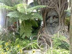 a tree god