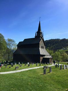 Kaupner stave church, Sogndal Norway.  Built in 1140.