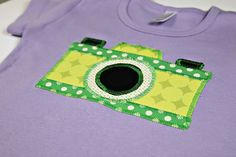 Free pattern download to make a child's vintage camera shirt ... but I think I need to make it for me. :)