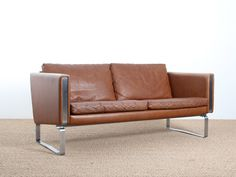 Scandinavian 2-seater sofa. Model JH-802.  - Galerie Møbler