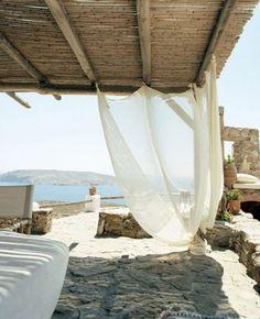 Terrasse grecque