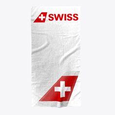 Beach Towel of Swiss International Air Lines