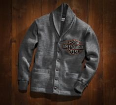 Brand new, vintage-inspired Harley-Davidson clothing... Modeled after original Harley clothes from way back when!... Never knew how much I needed something like this until now...  Harley-Davidson Museum Shop - Posters and Framed Art Prints Available