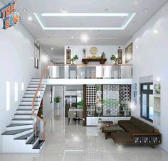 Modern Small House Design, Modern Exterior House Designs, Modern House Facades, Small House Interior Design, Home Stairs Design, Home Building Design, Bungalow House Design, House Front Design, Tiny House Design