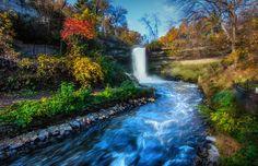 Fall @ the falls (2) by Bill Donovan on Capture Minnesota // .