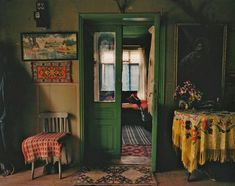 "Roma interior - From the book ""The Roma Journeys / Die Romareisen""; photographs by Joakim ESKILDSEN; foreword by Günter Grass, text by Cia Rinne. Bohemian House, Bohemian Room, Bohemian Decor, Bohemian Bedrooms, Vintage Bohemian, Cafe To Go, Interior Exterior, Interior Design, Interior Colors"