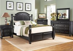 Shop For A Carrolton Raven 8 Pc King Bedroom At Rooms To Go. Find Bedroom