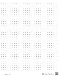 Graph Paper Printable  Click On The Image For A Pdf Version Which