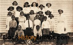 Antique African American Black History Real Photo Postcard RPPC Class School Picture Black Americana.  https://blackhistoryphotos.com/collections/vintage-1940-present-photos-african-american
