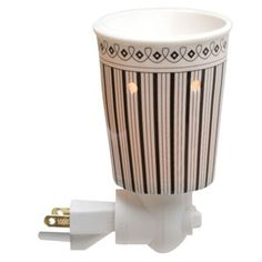 Stripe Plug-In Scentsy Warmer $16