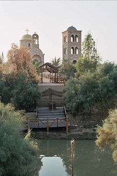 """Qasr el Yahud"", near Jericho, in the holy land, is believed to be the exact site where John baptized Jesus"