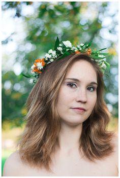 Elisa Loechel Photography - Kathy – Blumenkranz & Novembersonne
