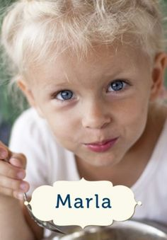 Schöne schwedische Vornamen: Marla -