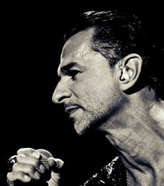 Dave Gahan. Depeche Mode. Always a bit in love with this guy! And his music