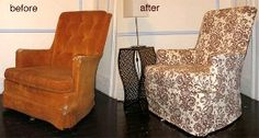 Slipcover a Reading Chair