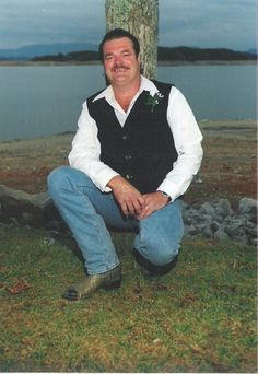 """Groom at one of our """"Dam Weddings"""". The Douglas Dam area is beautiful!  Visit www.idotennessee.com or call 866.I DO TENN (866.436.8366)"""