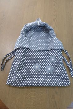 sleeping bag for baby. Handmade by Arja Bakker