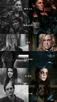 They will never be those kids again. But the adults they've become, are all respectable in their own way Bellamy The 100, Lexa The 100, The 100 Clexa, The 100 Cast, The 100 Show, Bellarke, Dc Movies, Movies And Tv Shows, Hunger Games
