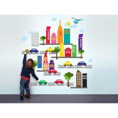 Crea con vinilos una ciudad infantil para los más peques de la casa