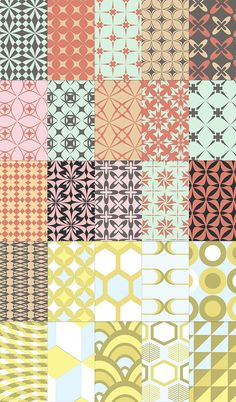 Free download: 25 Retro Patterns http://www.mightydeals.com/deal/25-free-retro-patterns.html