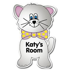 Personalised Wooden Cat Door Plate  from Personalised Gifts Shop - ONLY £12.99
