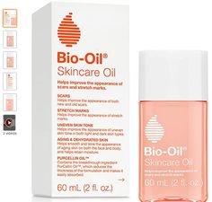 Bio-Oil Skincare Oil, 2 Ounce, Body Oil for Scars and Stretchmarks, Hydrates Skin, Non-Greasy, -  Improves appearance of scars and stretch marks – clinically proven and dermatologist recommended to help repair skin damage and scars from pregnancy, surgery, injury, acne, C-section, aging, and more. So if you have extra time to organize your skin care cabinet, keep bio-oil front and center Carefully formulated, natural body oil – vitamin e helps maintain healthy looking skin while natural… Bio Oil Before And After, Oils For Scars, Uneven Skin Tone, Lavender Oil, Stretch Marks, Dark Skin, Natural Skin Care, Light In The Dark, Surgery