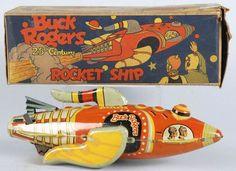 Tin Marx Buck Rogers 25th Century Rocket Ship Toy