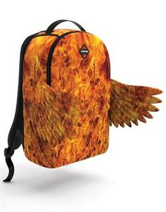 www.hiphopcloset.com - Hades Fire Wings Sprayground Backpack