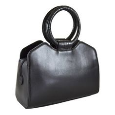 Colette Handbag Black, $135, now featured on Fab.