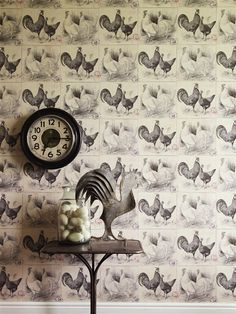 Linwood Arthouse Wallpapers -  Chicken Run -love this site for super cool wallpapers!