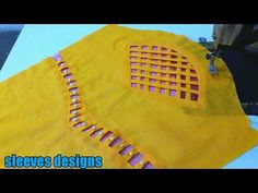 Knitting Patterns Women Latest/ unique/beautiful baju sleeves designs for suit kurti dress blouse Saree Blouse Neck Designs, Kurti Neck Designs, Dress Neck Designs, Stylish Dress Designs, Fancy Blouse Designs, Sleeve Designs, Neck Designs For Suits, Sleeves Designs For Dresses, New Look Blouses