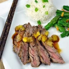 Teriyaki Skirt Steak