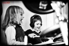 #365dayPhotoChallenge 120/365 Thursday, April 30th.  Over to Gigi's this evening for tea and the kids had a whale of a time hammering on the electronic drums. #drums #loud