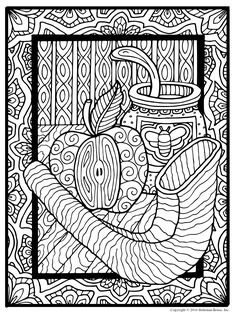 Have you downloaded your free coloring page from Shalom Coloring yet?