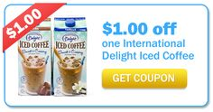 Save $1.00 on International Delight Iced Coffee