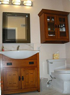 Craftsman Bathroom Vanity | Craftsman Bathroom Vanity