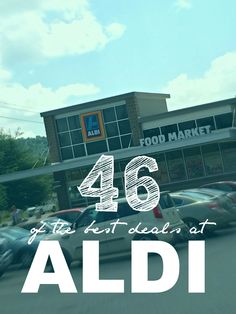 Are you wondering What to Buy at Aldi? We have 46 Incredible Deals at Aldi Grocery Stores that you'll want to check out! My Favorite Cheap Grocery Store! Aldi Grocery Store, Aldi Shopping, Shopping Hacks, Grocery Items, Healthy Shopping, Save Money On Groceries, Ways To Save Money, Groceries Budget, Budget Dinners