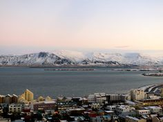 Dramatic mountains just behind Iceland's capital city. Marjorie Freimuth photos